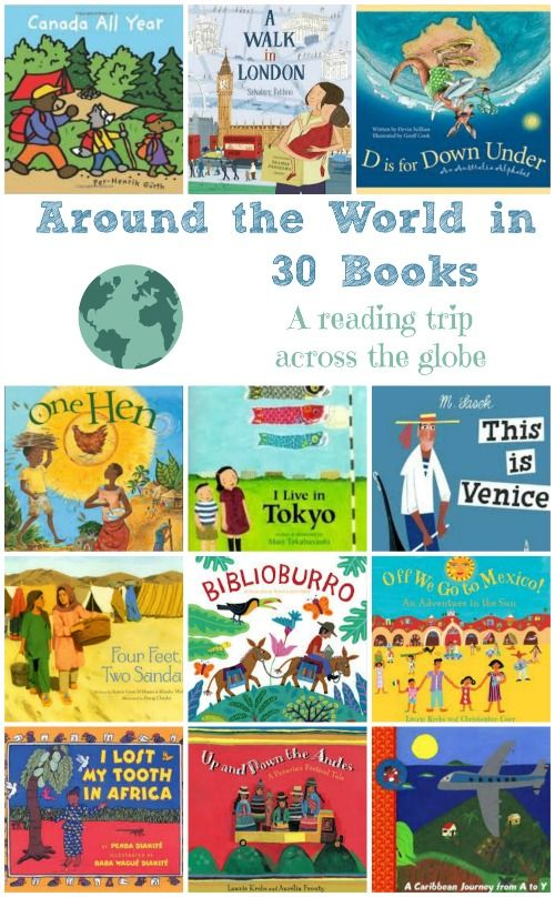 books around the world