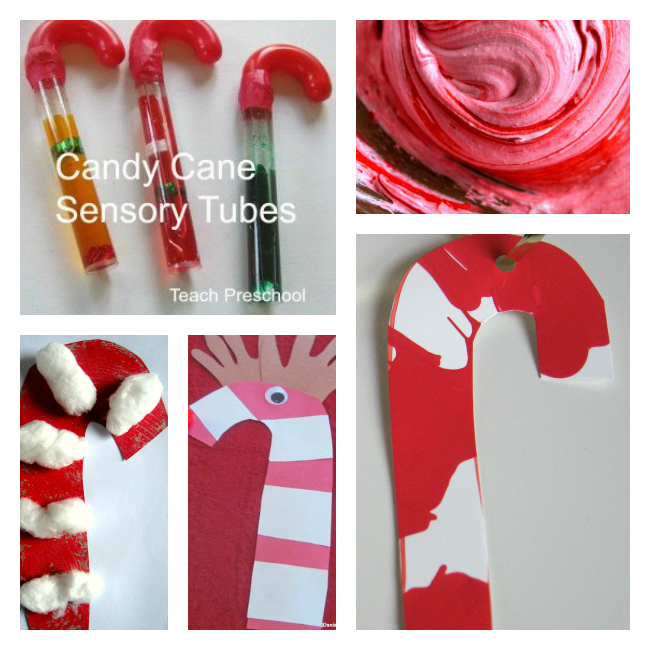 Amazing Christmas Craft Ideas For 3 Year Olds Part - 12: Candy Cane Activities For Preschool