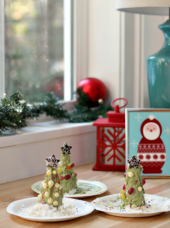 edible christmas centerpiece for kids