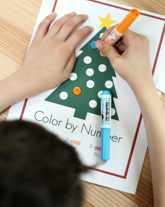 color by number for elementary