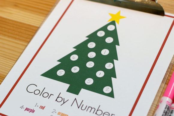 color by number number match