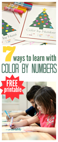 'FREE color by numbers' from the web at 'https://www.notimeforflashcards.com/wp-content/uploads/2014/12/color-by-numbers-printable-for-kids--204x498.png'
