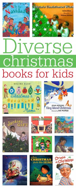 diverse christmas books for kids