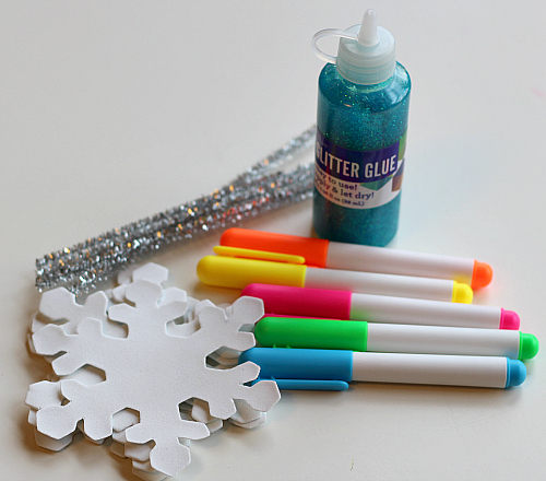 easy snowflake craft for kids