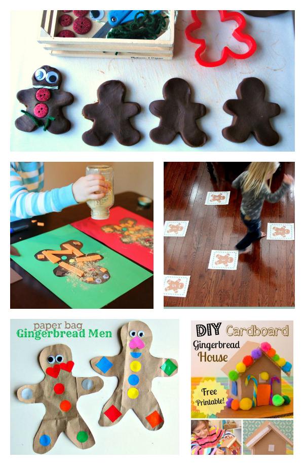 Charming Christmas Craft Ideas For 3 Year Olds Part - 11: Gingerbread Activities For Preschool