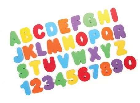 toddler bath letters
