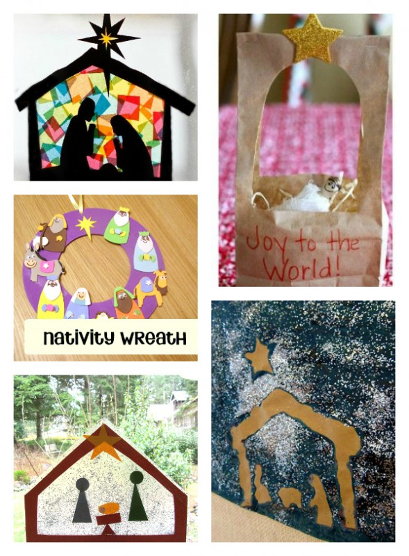 nativity craft ideas for church