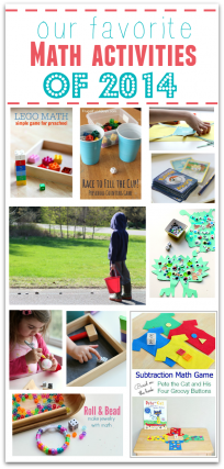 best preschool math activities