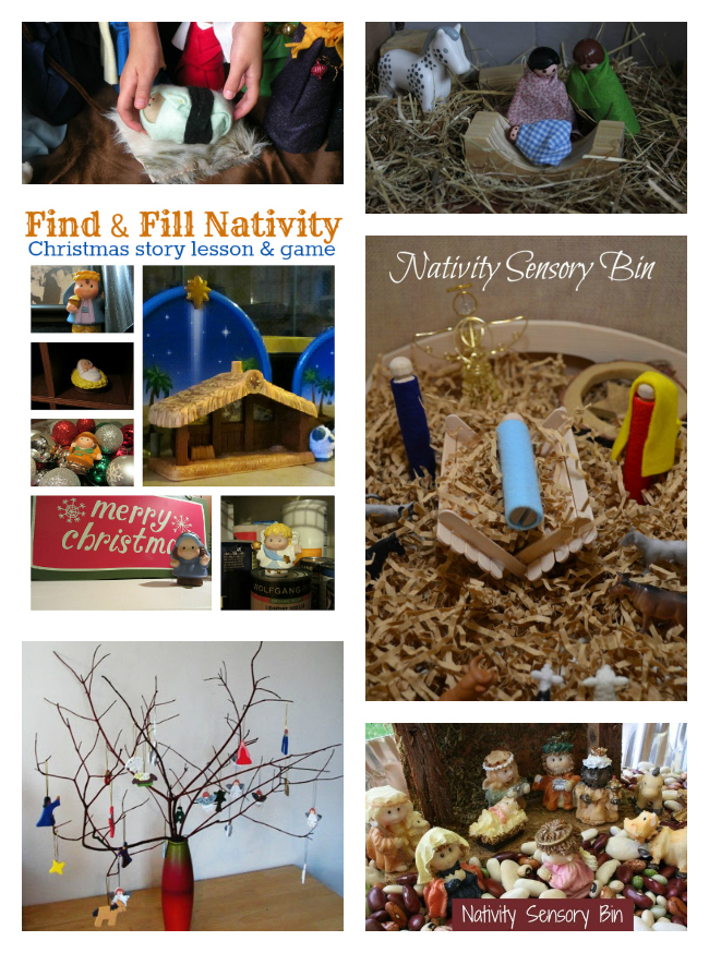 Nativity Scene Find & Fill Scavenger Hunt is a great way to teach the ...