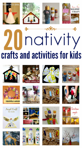 Nativity Crafts & Activities For Kids