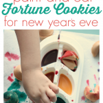 Painting Fortune Cookies – New Year's Eve Activity For Kids