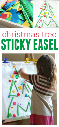 christmas free choice activity for preschool