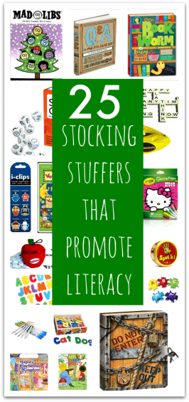 Stocking Stuffers For Kids That Promote Literacy