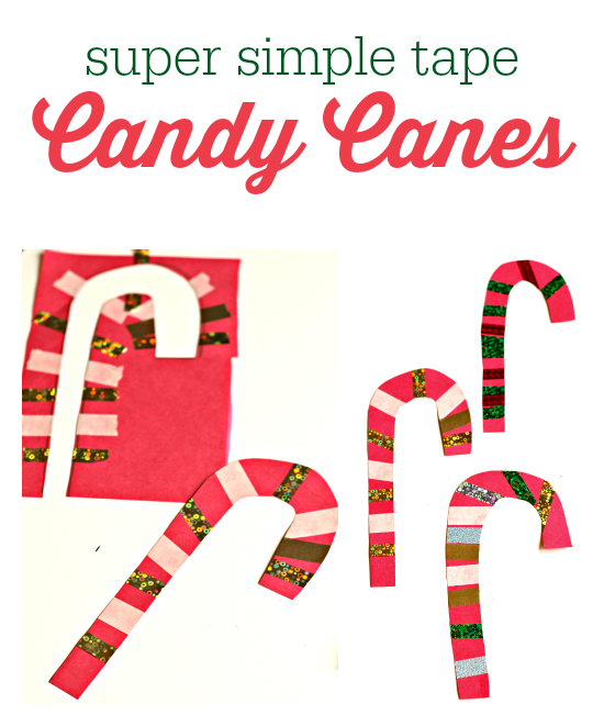 Christmas Craft Ideas With Candy Canes Part - 39: Candy Cane Craft For Kids