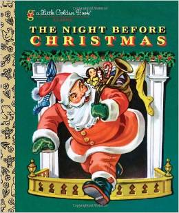 the night before christmas golden book