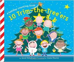 Christmas board books - list from no time for flash cards