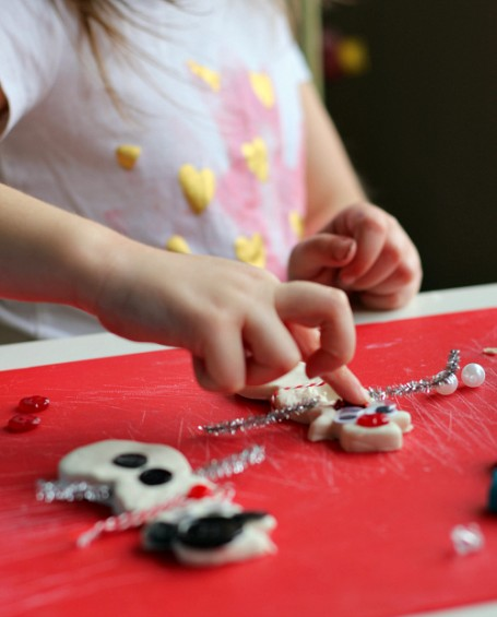 winter play dough for preschool