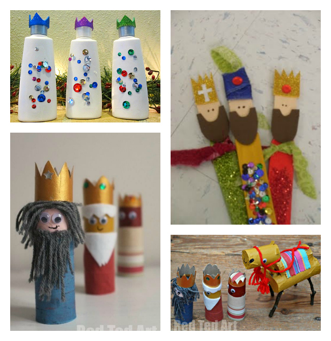Nativity crafts activities for kids no time for flash for Three wise men craft