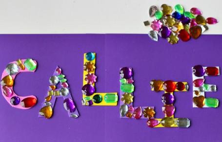 callie gem letters