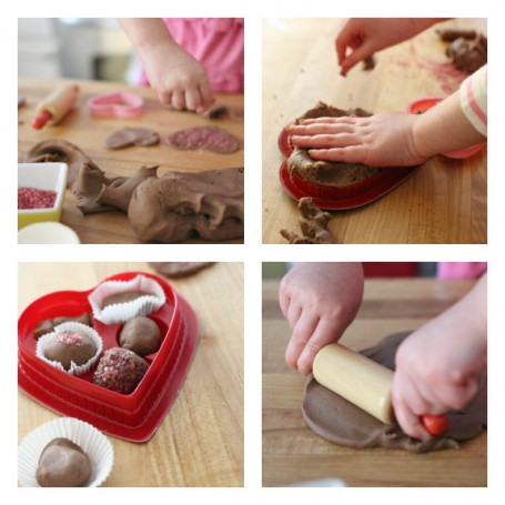 chocolate gluten free play dough candy factory