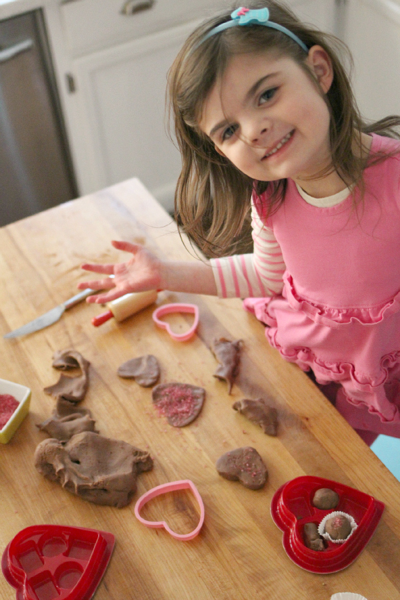chocolate gluten free playdough recipe