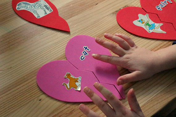 Valentine's Day Literacy Activities - No Time For Flash Cards