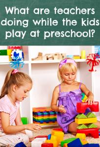 free choice in preschool