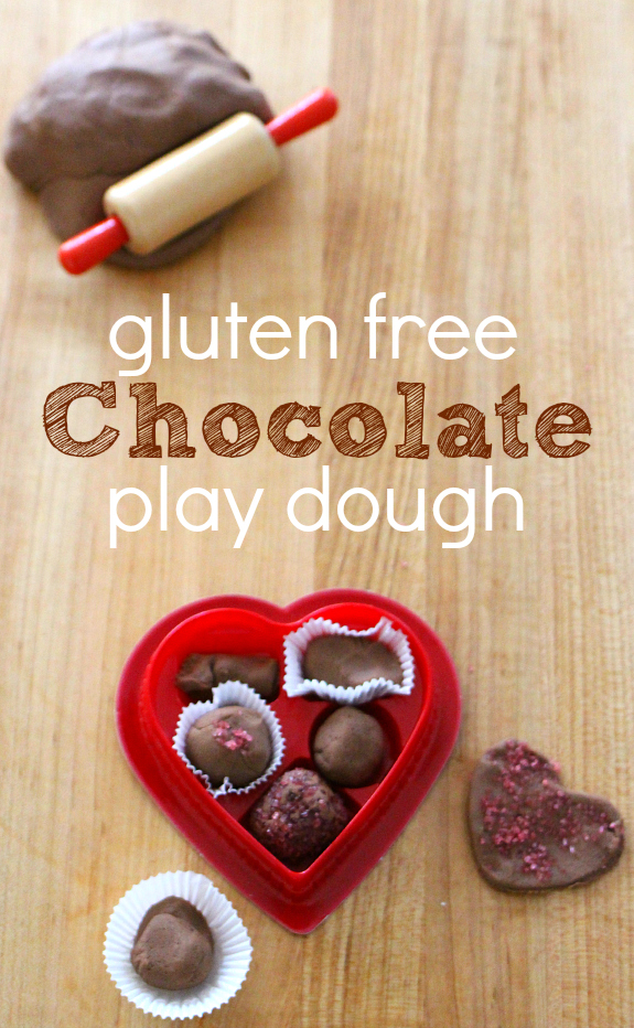 gluten free chocolate play dough recipe