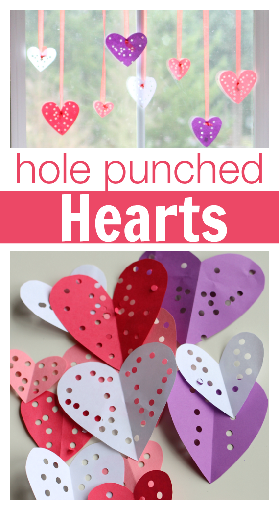 Easy Valentine's Day Craft - No Time For Flash Cards