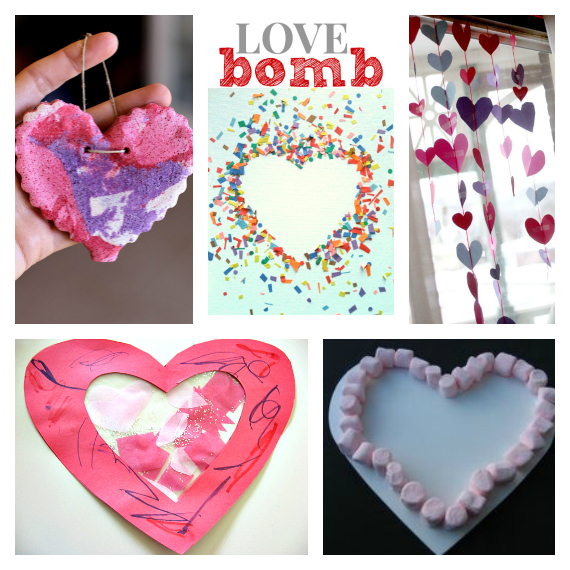 Valentine 39 s day activities for preschool for Crafts for valentines day ideas