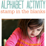 Easy Alphabet Activity For Kids