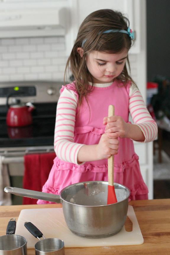 stiring play dough gluten free play dough