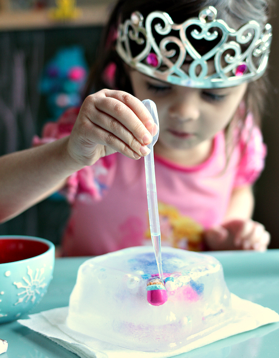 thawing anna scicence for preschool