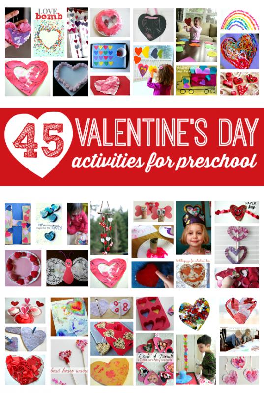 valentine's day activities for preschool