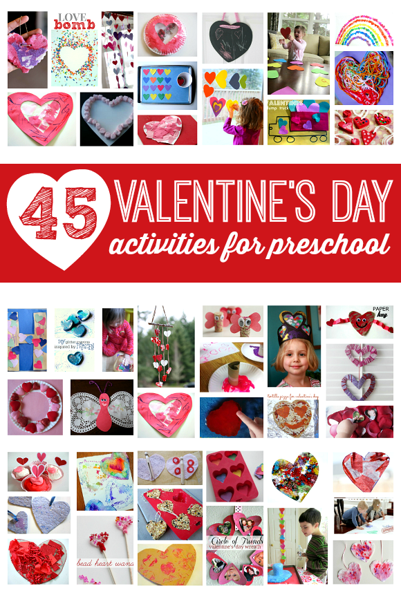 45 valentines day activities for preschool
