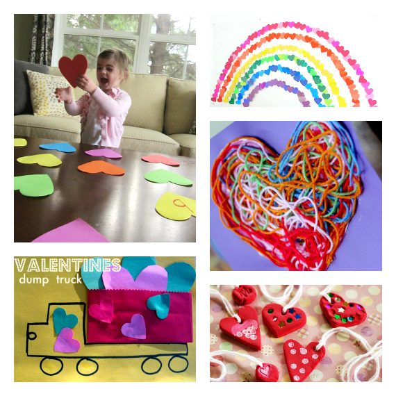 valentine's day ideas for preschool