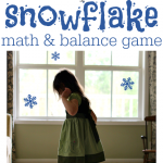 Winter Math Game Inspired by Frozen