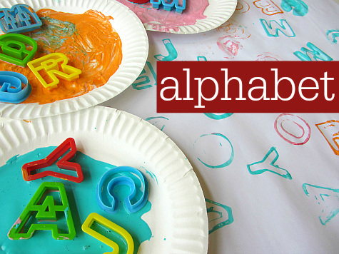 alphabet landing page