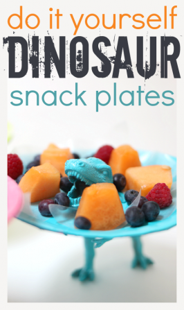 Dinosaur Plates – Make Snack Time Fun!