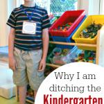 Kindergarten Checklist – Why I'm ditching it.