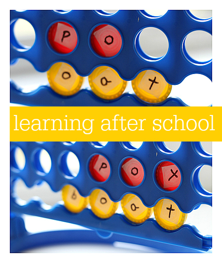 learning after school landing page