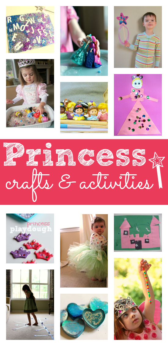 princess crafts for kids