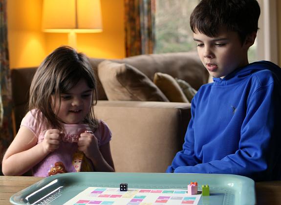 rhyming board game