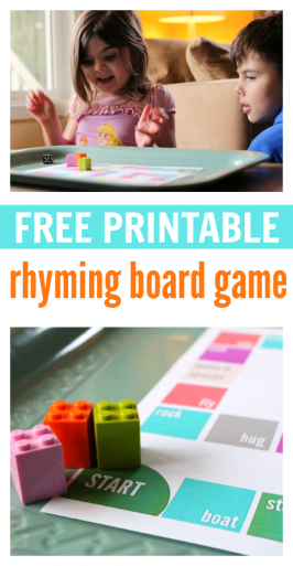 rhyming printables free