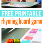 Rhyming Board Game – FREE Printable
