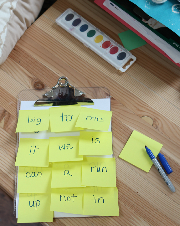 sight word game for kids easy