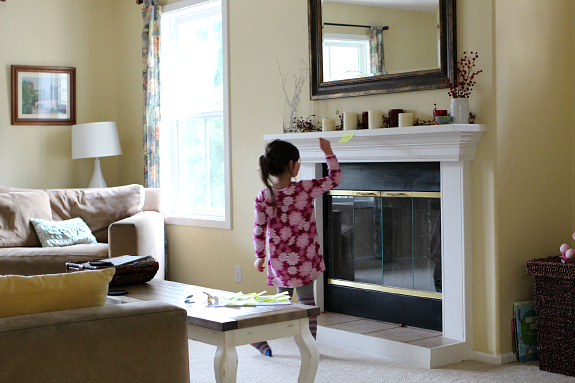 sight word scavenger hunt around the house