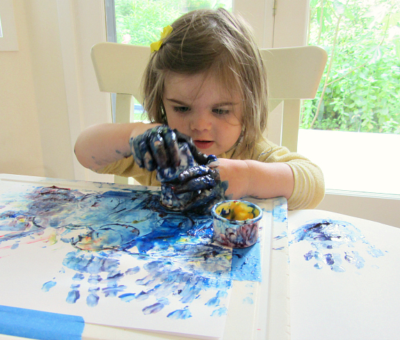 tips for finger painting