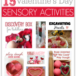 Valentine's Day Sensory Play Ideas