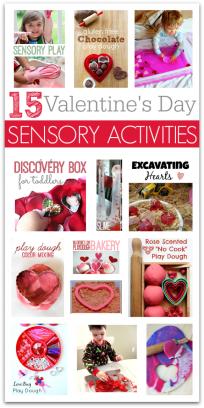 valentine's day sensory activities